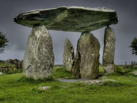 Pentre Ifan 2, Pembrokeshire, Wales by Bob Culshaw