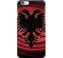 Albania Twirl iPhone Case/Skin