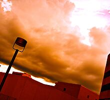 Clouds Over Blocks by Dr. Charles Taylor