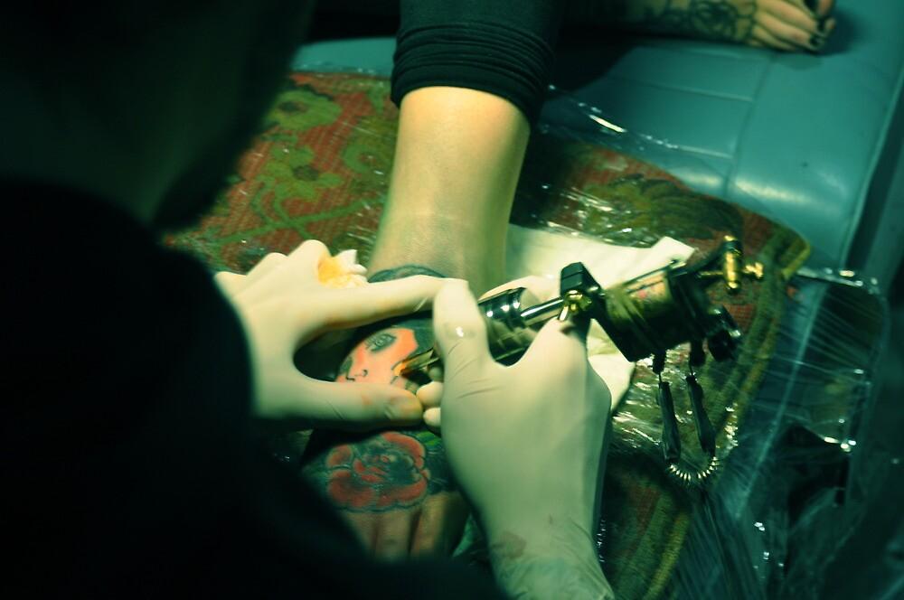 Stephs Ink - Melbourne by alexwaldmeyer