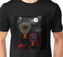 Hot Air Balloons In the desert  Unisex T-Shirt