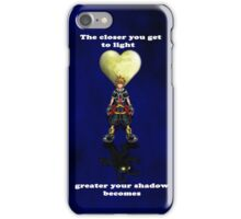 Sora Heartless Light Shadow Kingdom Hearts iPhone Case/Skin