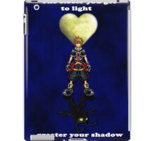 Sora Heartless Light Shadow Kingdom Hearts iPad Case/Skin