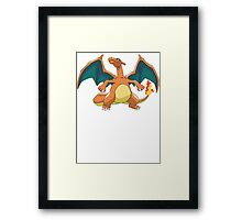 Pokemon - Charizard Framed Print