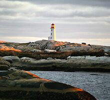Peggys Cove Eve by oceaNSedge
