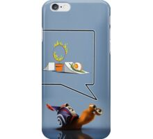 Funny Snail iPhone Case/Skin