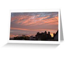 Sunrise 05/10/10 Greeting Card
