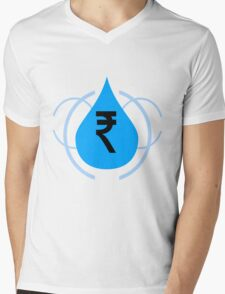 Rupee is precious Mens V-Neck T-Shirt