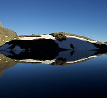 Reflection - Pyrenees, Spain by Ben Collins