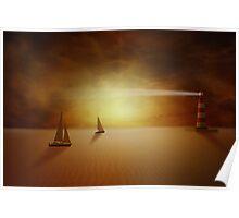 Desert fantasy Poster