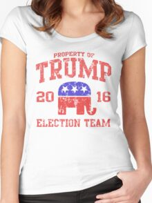 Trump Election Team 2016 Women's Fitted Scoop T-Shirt