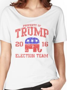 Trump Election Team 2016 Women's Relaxed Fit T-Shirt