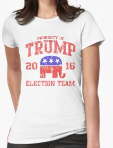 Trump Election Team 2016 Womens Fitted T-Shirt