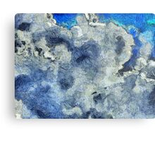 Clouds Vincent Style 2 Metal Print