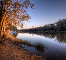 River Murray Dusk - Above Renmark, South Australia by Mark Richards