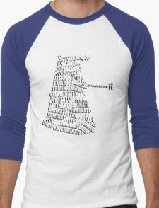 Exterminate V.2 Men's Baseball ¾ T-Shirt