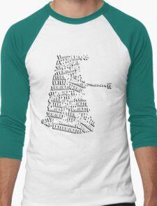 Exterminate V.2 Men's Baseball ¾ T-Shirt