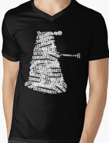 Exterminate V.2 Mens V-Neck T-Shirt