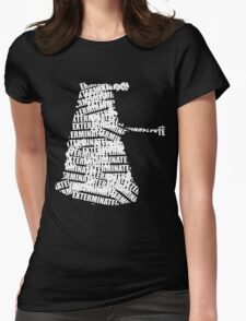 Exterminate V.2 Womens Fitted T-Shirt