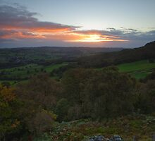 Sunrise over Nidderdale.  by Nick Atkin