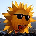 SunFace Hot Air Balloon by Nina Hofstadler