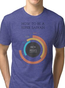 How to be a Super Saiyan Tri-blend T-Shirt