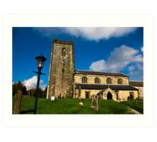 All Saints Church - Nafferton, East Yorkshire Art Print