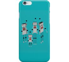 Robot Family iPhone Case/Skin