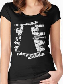 Exterminate V.3 Women's Fitted Scoop T-Shirt