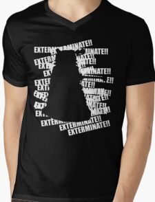 Exterminate V.3 Mens V-Neck T-Shirt