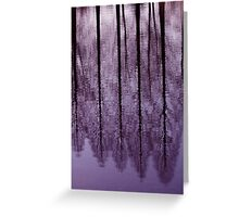 Water Trees - JUSTART © Greeting Card