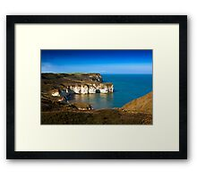Coastal View Flamborough Head - East Yorks. Framed Print