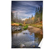 Autumn at Mill Creek Poster