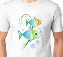 Blob says the fish Unisex T-Shirt