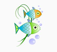 Blob says the fish Unisex T-Shirt