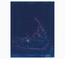 Massachusetts  USGS Historical Topo Map MA Nantucket 352873 1901 62500 Inverted Baby Tee