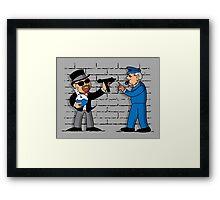 Heisenberg Monopoly Framed Print