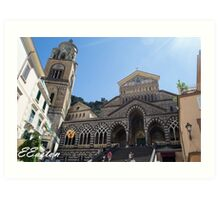 Cathedral of Saint Andrew at Amalfi Art Print