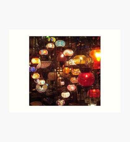 Arabic Lanterns Art Print