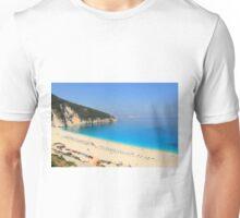Myrtos Beach - Kefalonia Unisex T-Shirt