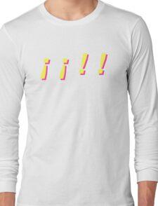 yellow pink Long Sleeve T-Shirt