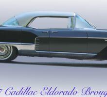 1957 Cadillac Eldorado Brougham Sticker