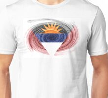 Antigua and Barbuda twirl Unisex T-Shirt
