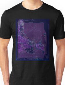 Massachusetts  USGS Historical Topo Map MA Edgartown 351665 1944 31680 Inverted Unisex T-Shirt