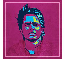 Marty McFly Pop Art Photographic Print