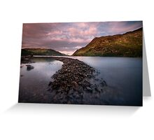 Lake Ullswater Greeting Card