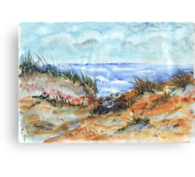 Marram Grass Canvas Print