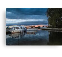 Tide Up For The Night Canvas Print