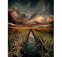 Irrigation ditch Photographic Print