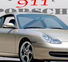 2001 Porsche 911 Carrera Sticker